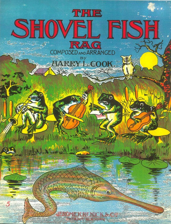 Shovel Fish Rag