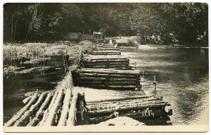Brice - log dam