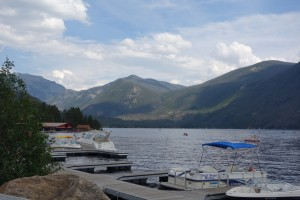 Largest natural lake in Colorado and headwaters of the Colorado River