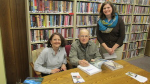 Angie Jones, Director of the St. Clair County Library, requested an autographed copy for a patron.
